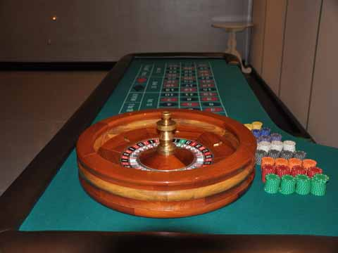 Roulette table at a casino night in Phoenix